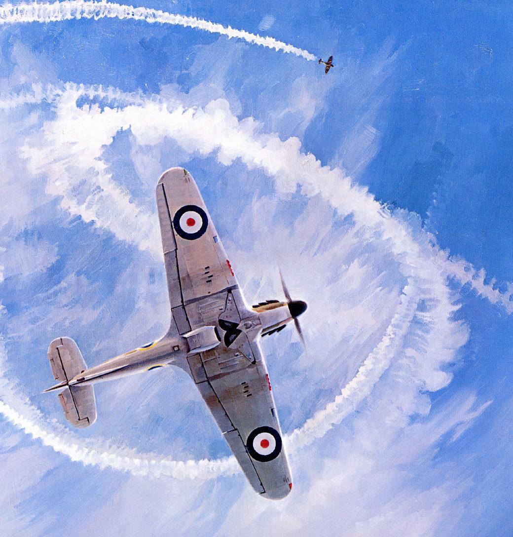 Ferris Keith. Истребители Hawker Hurricane I.
