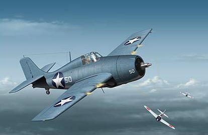 Tullis Tom. Истребитель Grumman F4F-4.