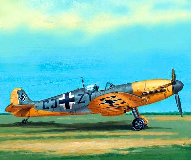 Fleischer Seweryn. Трофейный истребитель Supermarine Spitfire Mk.Vb.