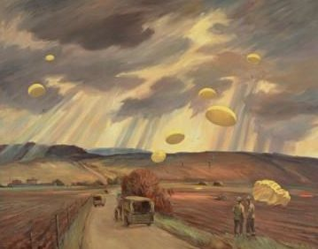 Tinning George Campbell. Обучение парашютистов.
