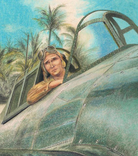 Lisinski Norb. Пилот истребителя.