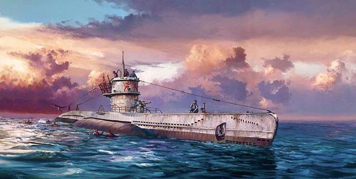 Herter Rick. Подводная лодка «U-552» серии VII-C.