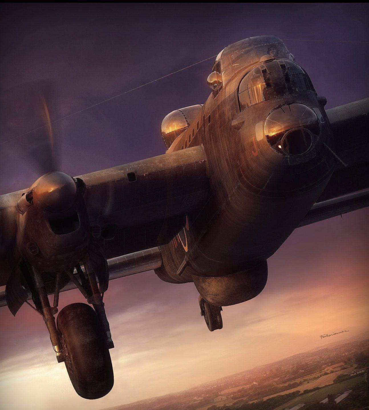 Forkasiewicz Peter. Бомбардировщик Avro Lancaster.
