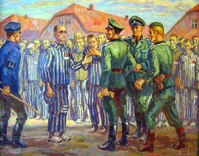Koscielniak Mieczyslaw. Освенцим.