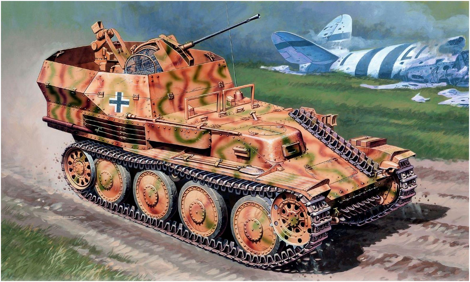 Deredos Andrzej. ЗСУ Flakpanzer 38(t) Ausf. L.