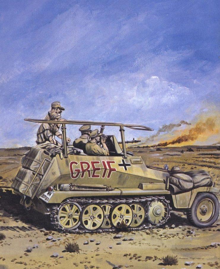 Feist Uwe. Бронеавтомобиль на поле боя.