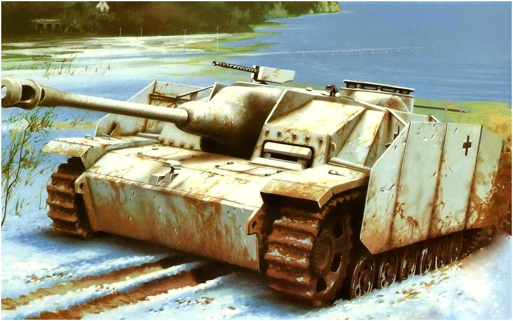 Wróbel Arkadiusz. САУ Sturmgeschutz III Ausf G.