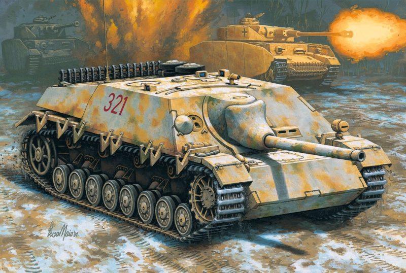 Maio Enzo. CАУ Jagdpanzer IV.