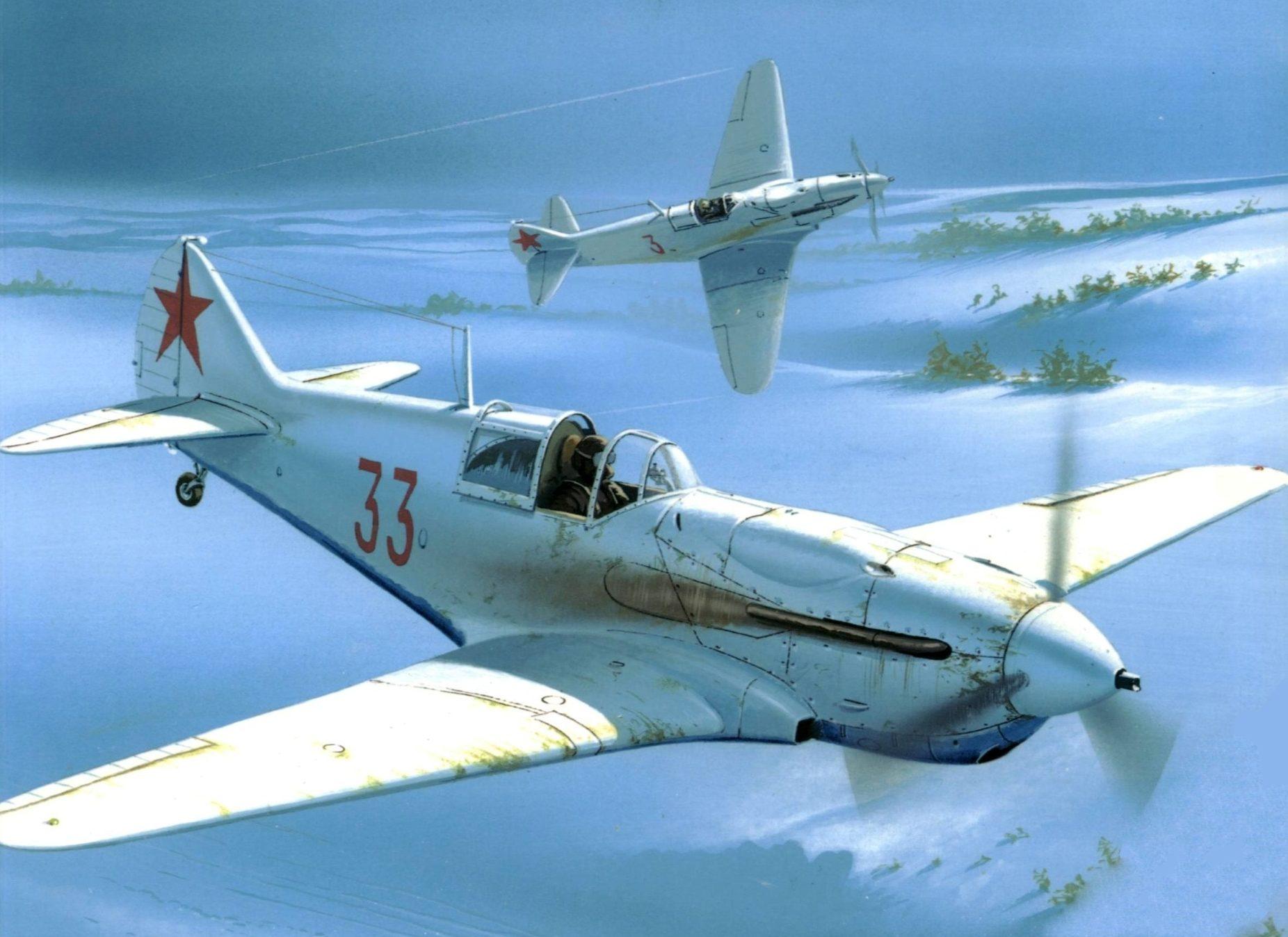 Wróbel Arkadiusz. Истребитель ЛаГГ-3.