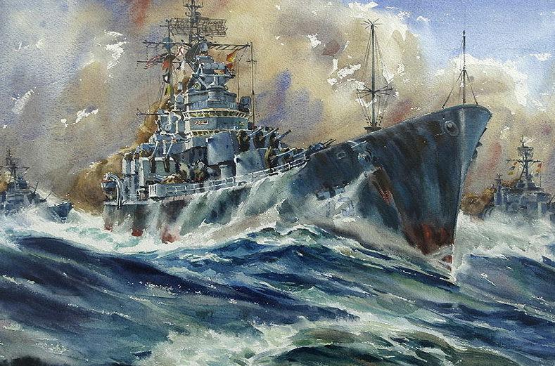 Beaumont Arthur. Легкий крейсер «Helena».
