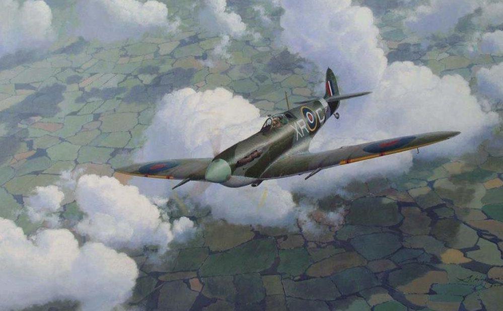 Heyen Steven. Истребитель Spitfire Mk .VB.