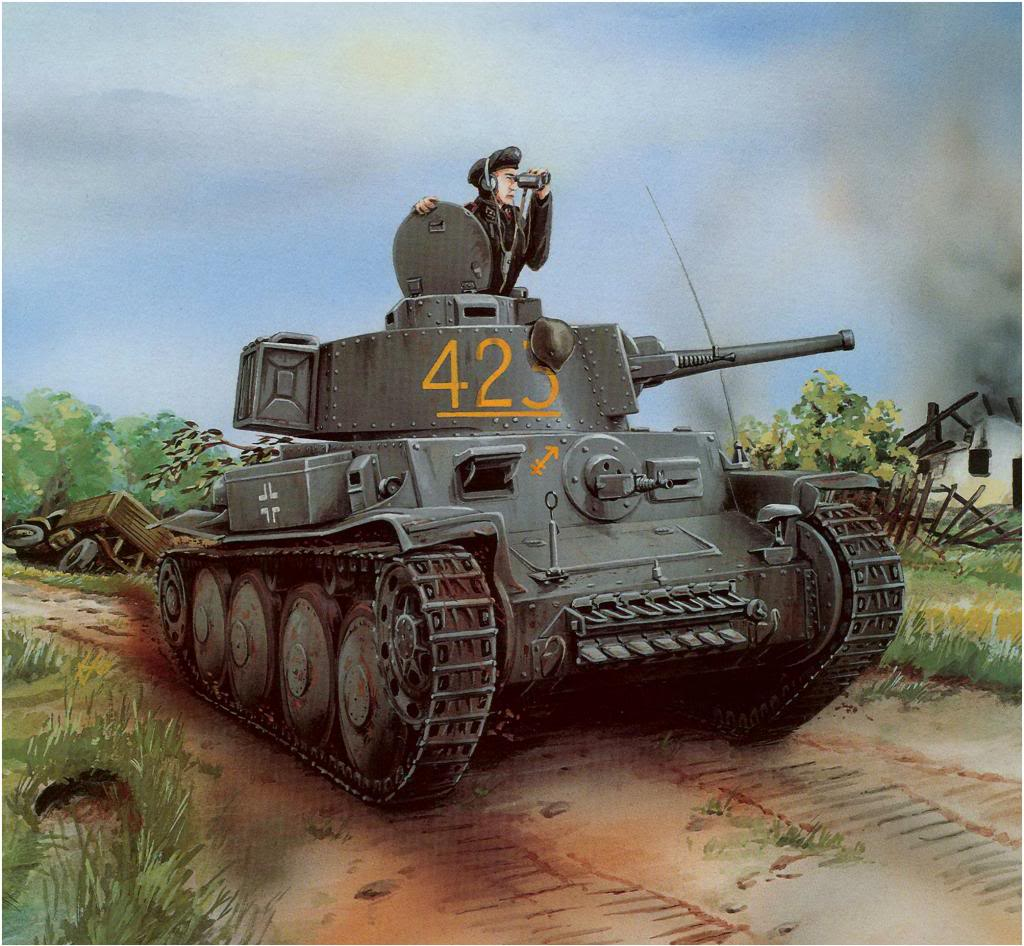 Martinek Vit. Танк Panzer 38(t) Ausf. D (ex-LT vz.38).
