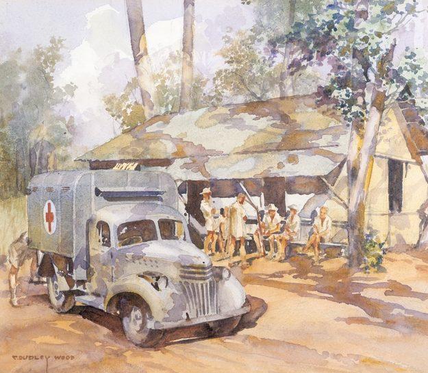 Wood Dudley. Медсанчасть RAAF.