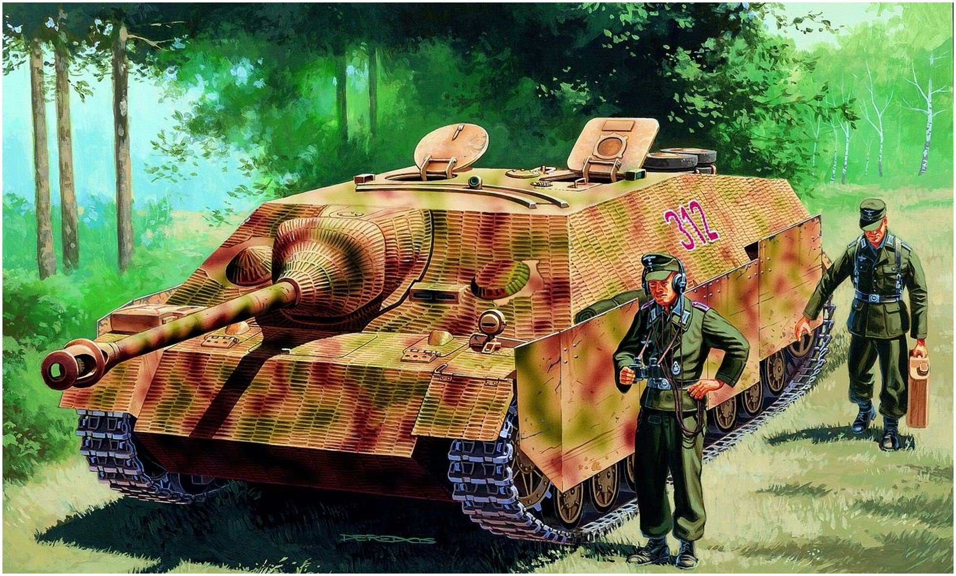 Deredos Andrzej. САУ Jagdpanzer IV Ausf.