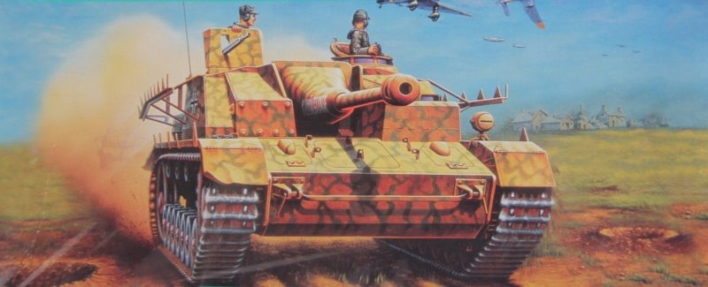 Maio Enzo. CАУ Sturmgeschutz IV.