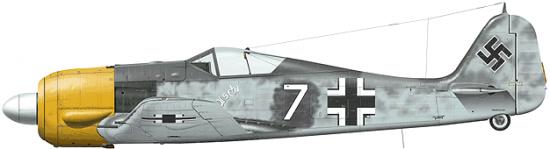 Tullis Tom. Истребитель Fw-190 A-3.