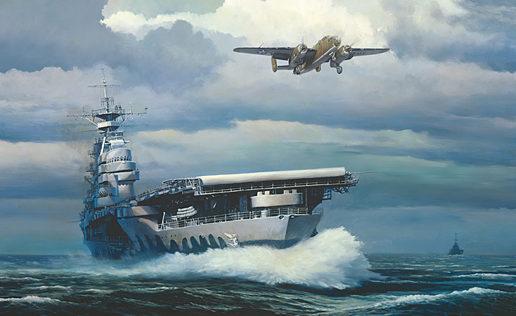 Phillips William. Авианосец «Hornet».