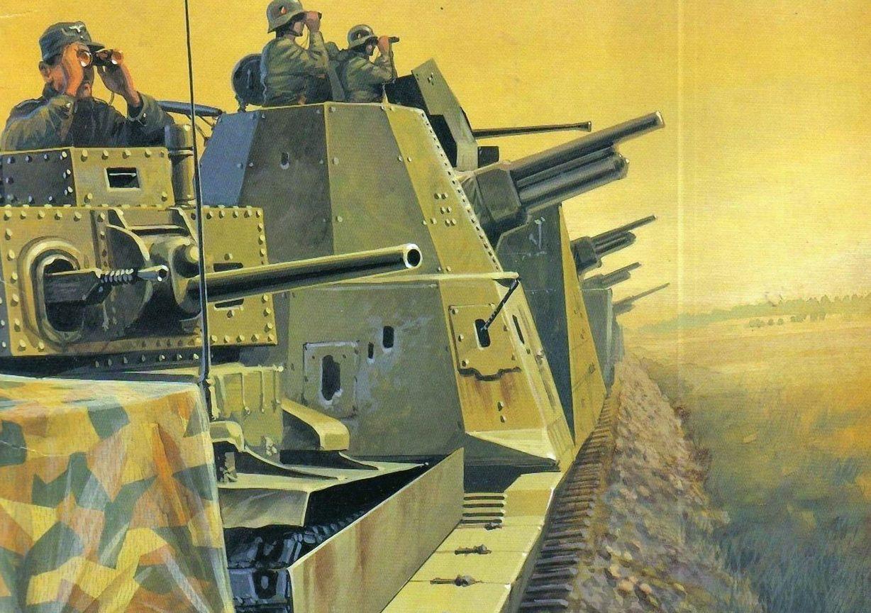 Wrobel Jaroslaw. Немецкий бронепоезд.