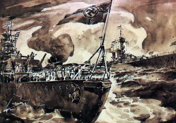 Beaumont Arthur. Бронепалубный крейсер «Emden».