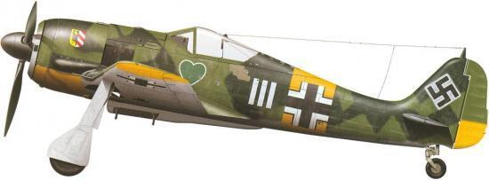 Tullis Tom. Истребитель Fw-190 A-4.