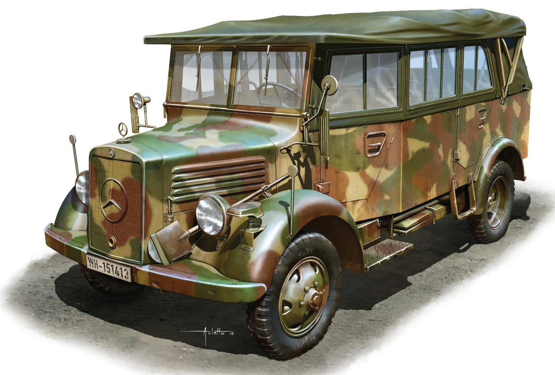 Auletta Vincenzo. Автомобиль Kfz. 70 L1500A.