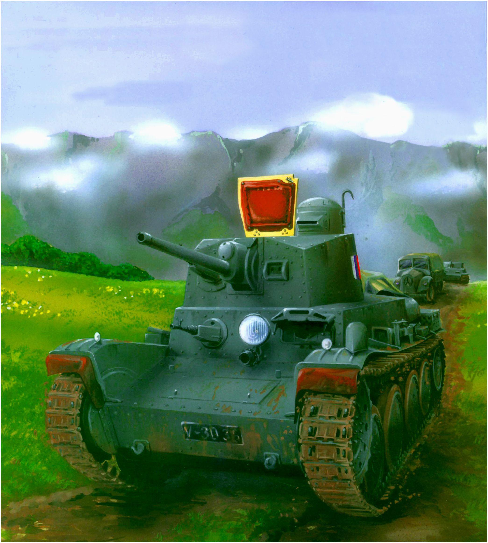 Martinek Vit. Танк Praga LT-40.
