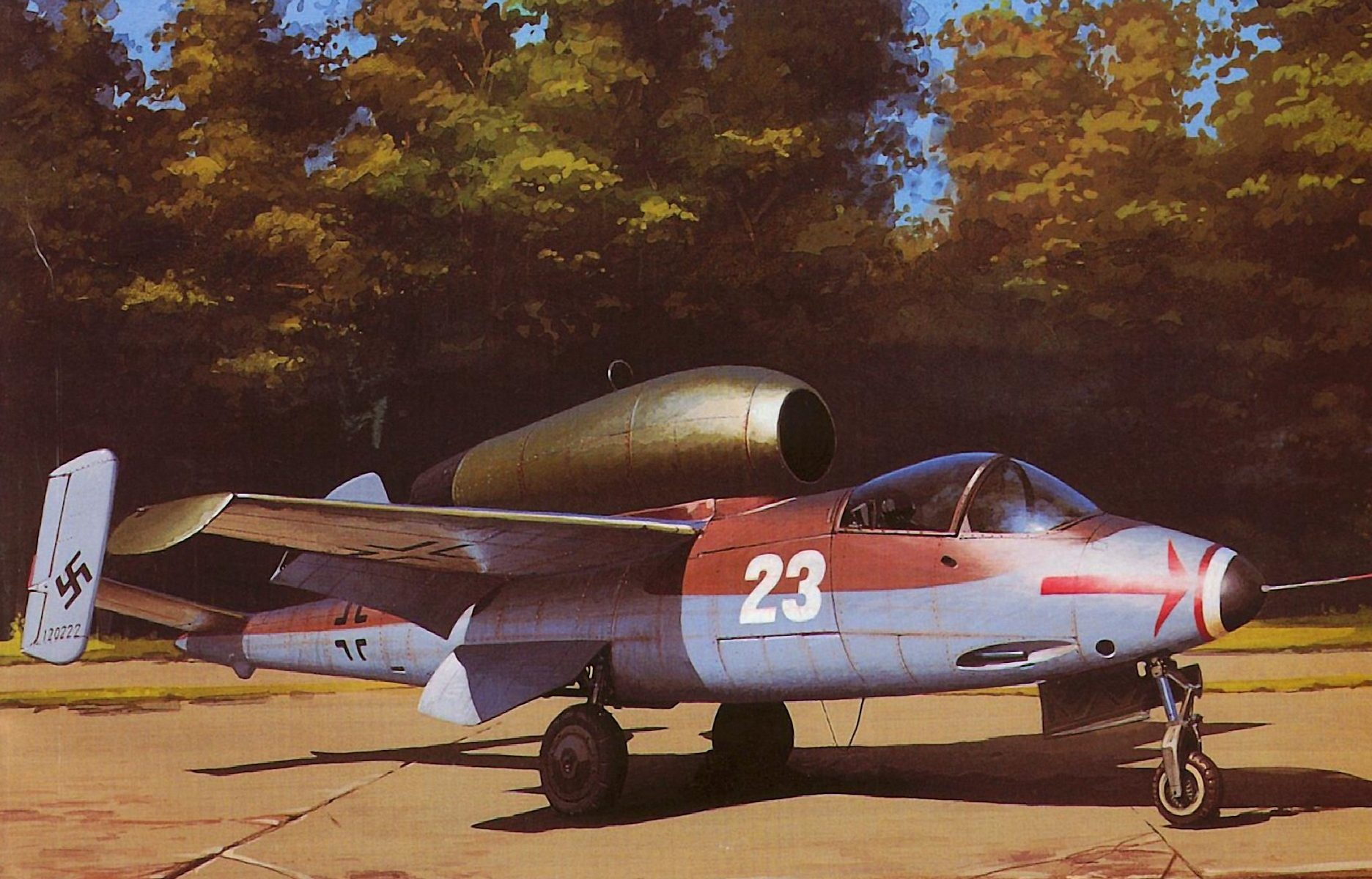 Wrobel Jaroslaw. Реактивный истребитель Henkel He-162.