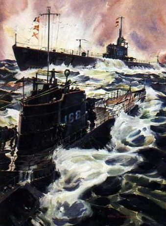 Beaumont Arthur. Подводные лодки «Nautilus» и «Sculpin».