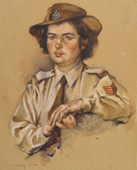 Wood Dudley. Служащая AWLA Lisbeth Ann Montgomerie.