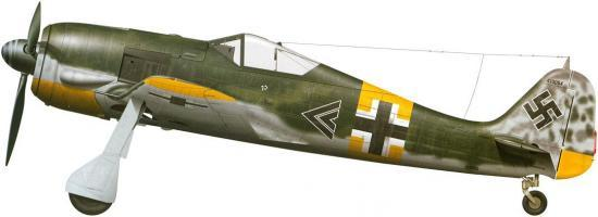 Tullis Tom. Истребитель Fw-190 A-5.