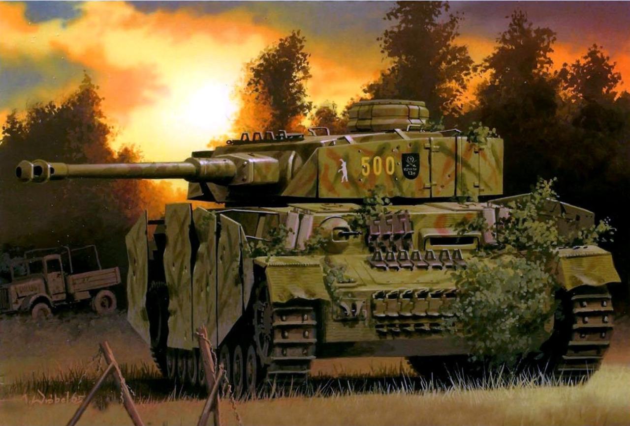 Wróbel Arkadiusz. САУ Sturmgeschutz III Ausf Н.