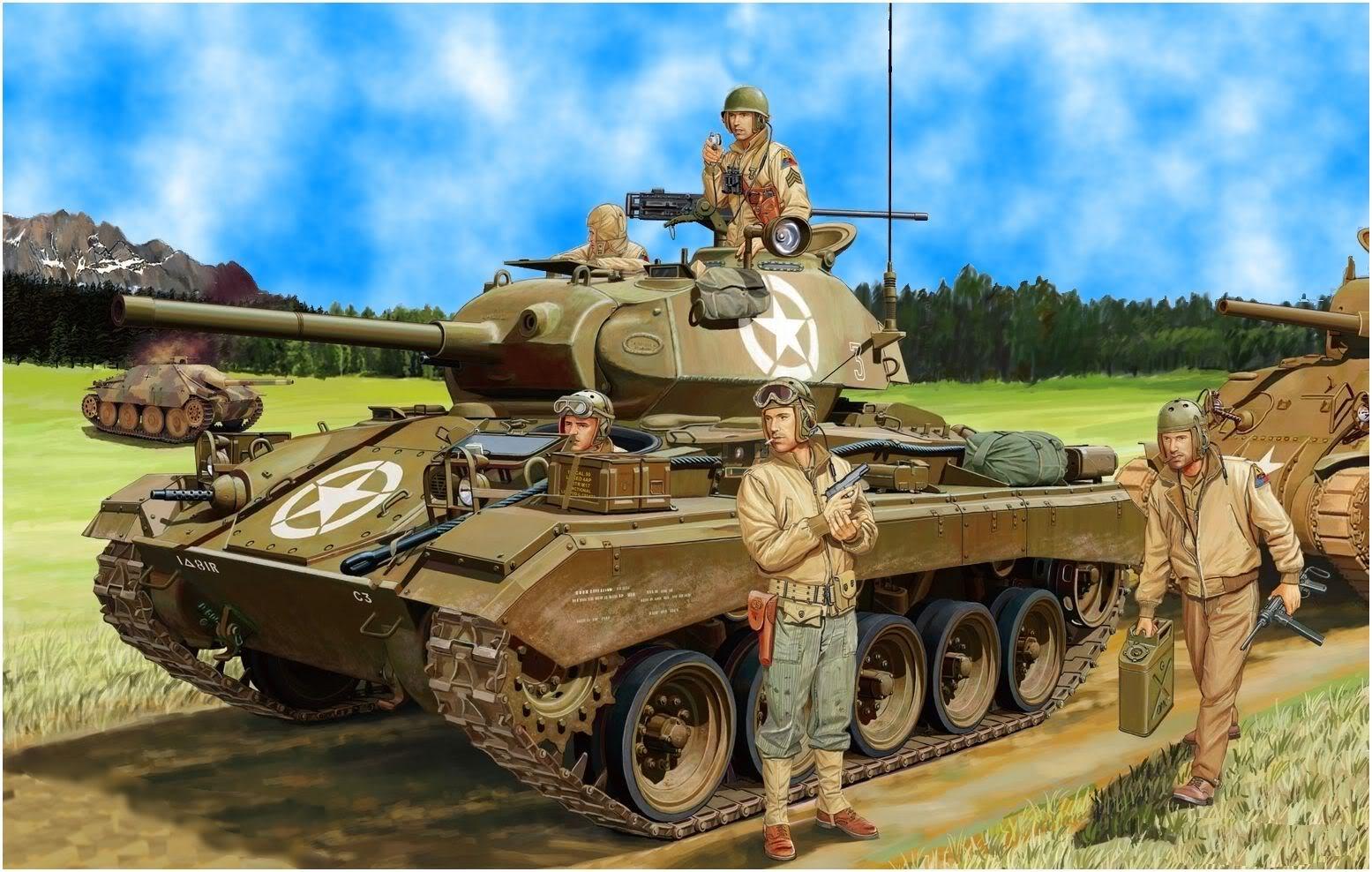 Wrobel Jaroslaw. Лёгкий танк PzKpfw 35(t).