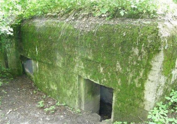 с. Белогородка Киево-Святошинского р-на. ДОТ №404 Киевского укрепрайона, построенный в 1929-1932 годах.