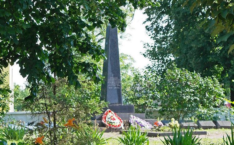 с. Мотижин Макаровского р-на. Памятник, установленный в 1967 году на братской могиле, в которой похоронено 8 воинов, погибших в ноябре 1943 года.