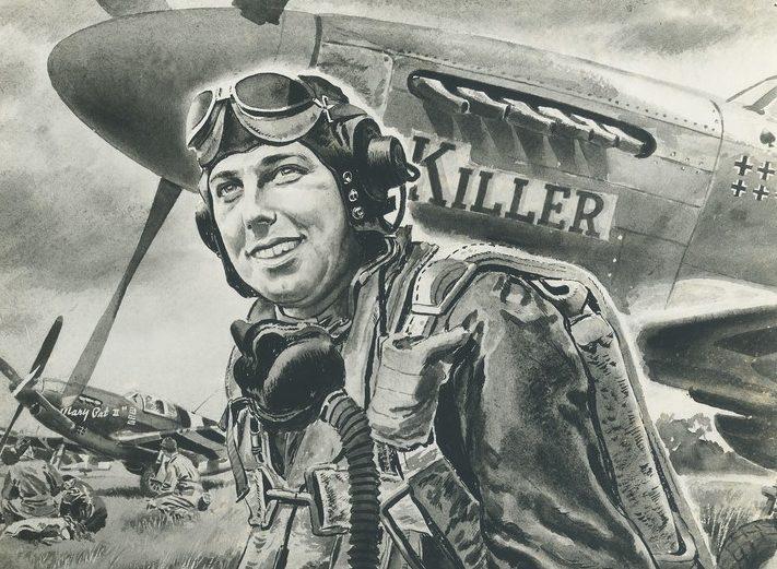 Nathan Glick. Пилот-истребитель.