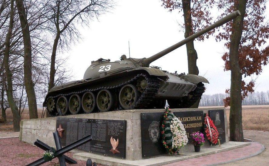 пгт. Глеваха Васильковского р-на. Памятник защитникам Родины.
