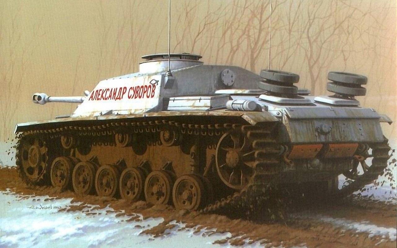 Wróbel Arkadiusz. Трофейная САУ StuG.III.