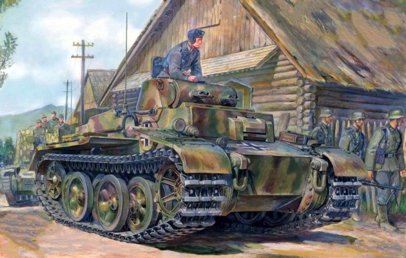 Volstad Ronald. Танк Panzer I Аusf. F.