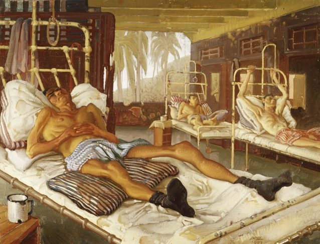 Murray Griffin. Больница в лагере Chang.