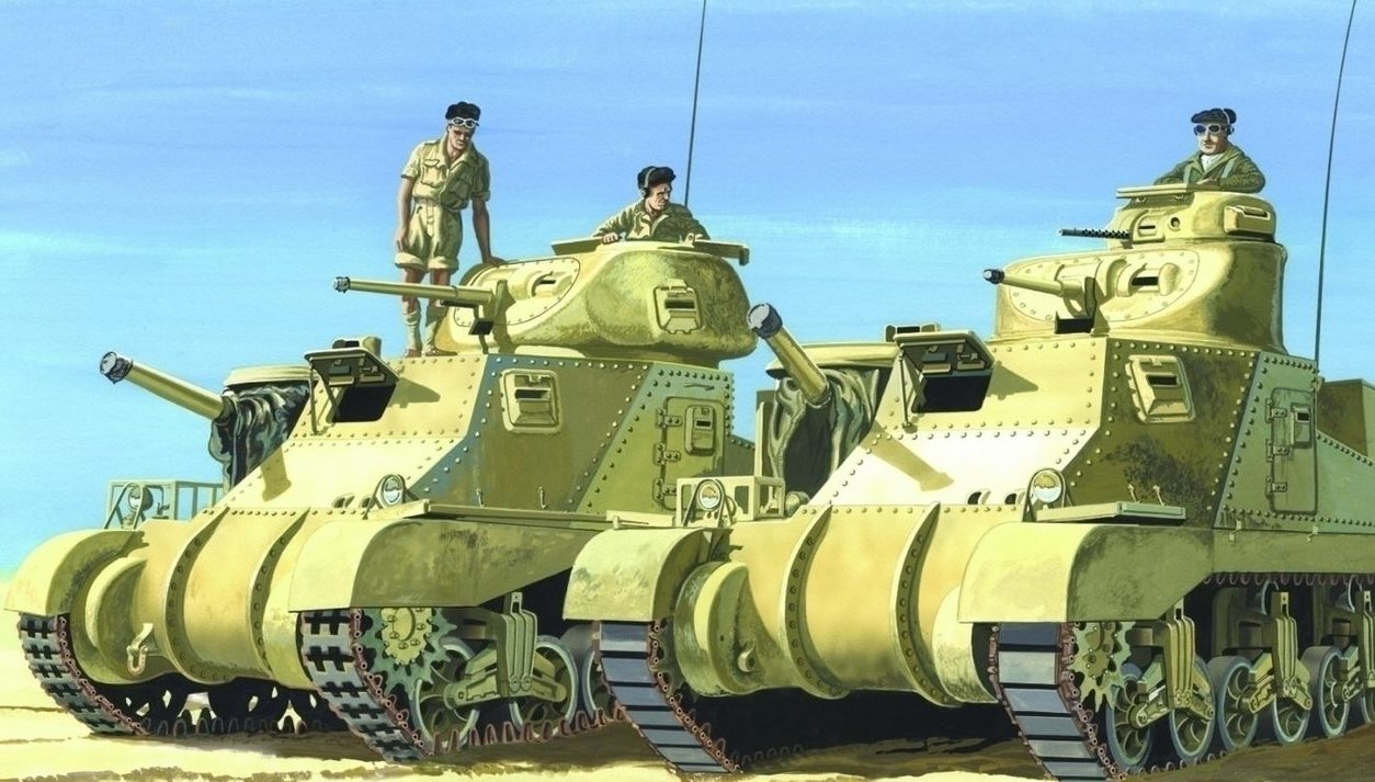 Greer Don. Танки М-3 Lee.