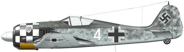 Tullis Tom. Истребитель Fw-190 A-7.