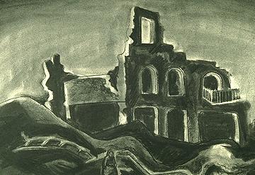 Bayefsky Aba. Киль после бомбардировок.