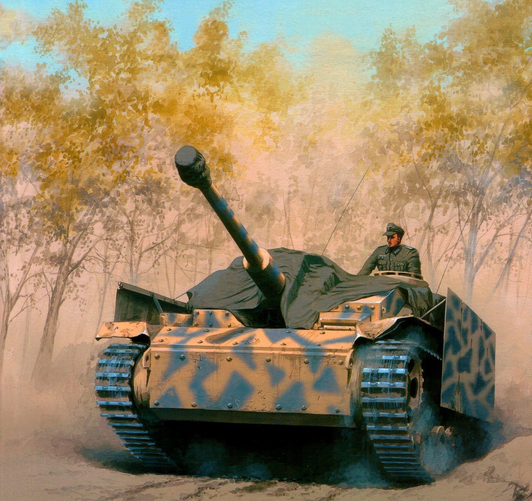 Wróbel Arkadiusz. САУ StuG 40 Ausf. G.