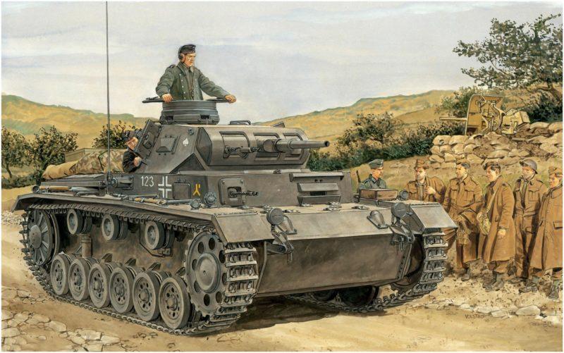Volstad Ronald. Танк Pz.Kpfw. III Ausf. F.