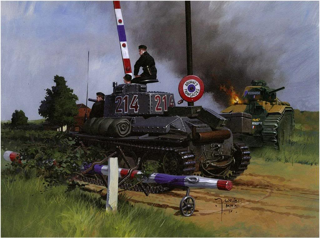 Wrobel Jaroslaw. Танк Panzer 38(t) Ausf.