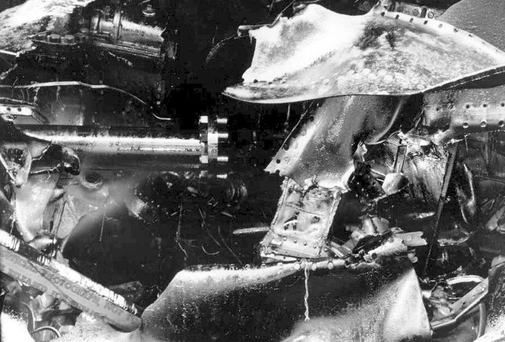 Поврежденный торпедой легкий крейсер «Helena». 7 декабря 1941 г.