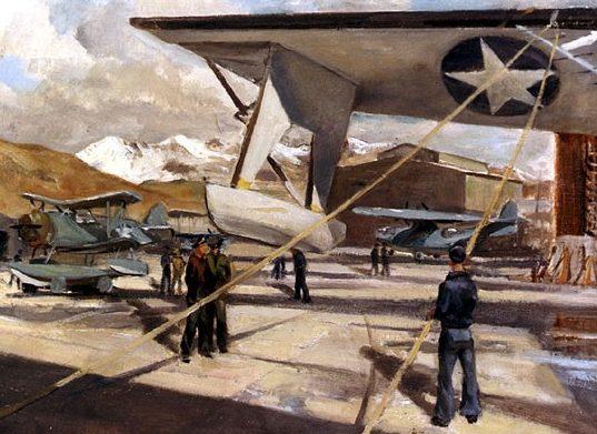 Draper William. Аэродром на Аляске.