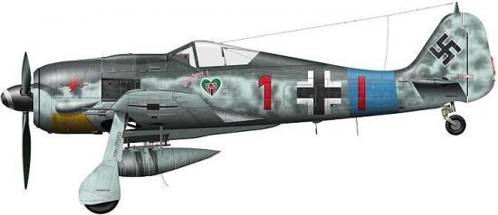 Tullis Tom. Истребитель Fw-190 A-8.