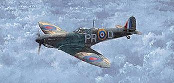 West Philip. Истребитель Spitfire.