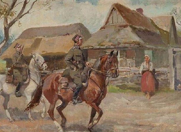 Trzeszczkowski Antoni. Уланы.